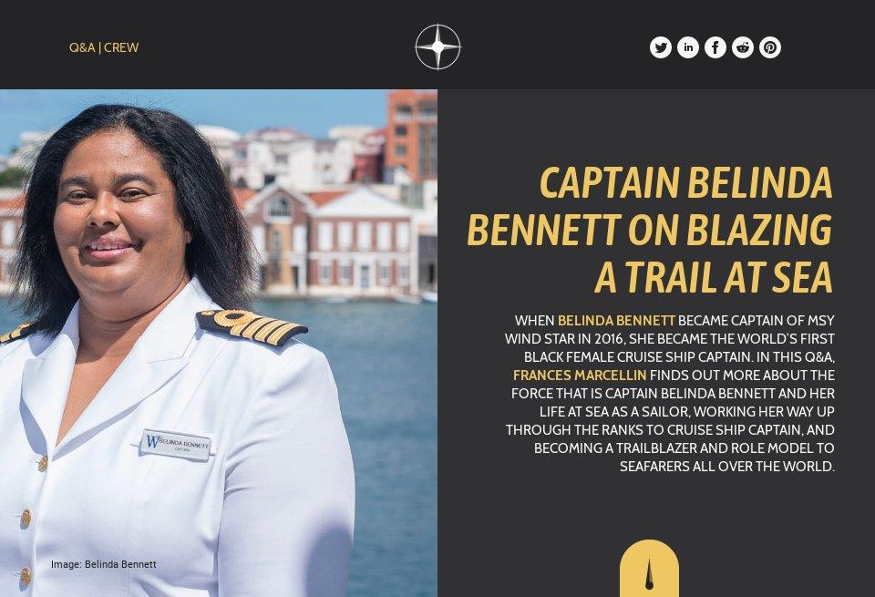 Captain Belinda Bennett on blazing a trail at sea - Future ... Belinda Bennett