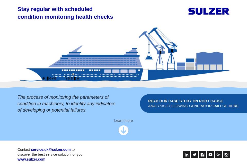 Sulzer - Future Cruise | Issue 5 | September 2018